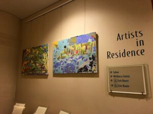 """Artists in Residence"" at the Mirabella retirement community"
