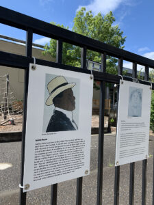 Teaching Fence, Black History = American History = Our History